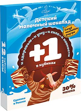 «OZera», шоколад детский молочный и белый, 90г