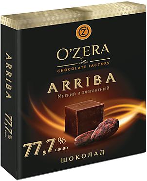 «OZera», шоколад Arriba, содержание какао 77,7%, 90г