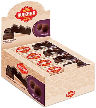 «Яшкино», шоколадный батончик с трюфельной начинкой, 47г