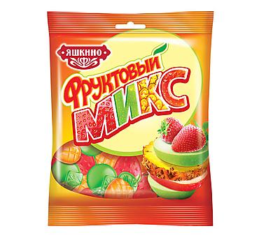«Яшкино», мармелад жевательный в форме ягод и фруктов, 170г