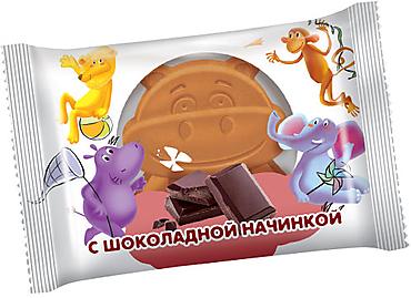 Бисквит с шоколадной начинкой, 30г