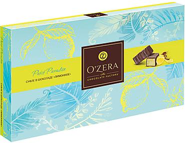 «OZera», суфле в шоколаде «Лимонное», 200г