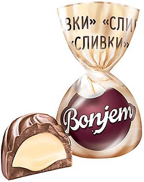 «Bonjem», конфета «Сливки» (упаковка 1кг)