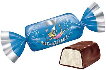 Конфета «7 желаний» со вкусом творожка (коробка 1кг)