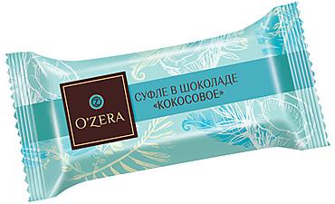 «OZera», суфле в шоколаде «Кокосовое» (коробка 1,5кг)