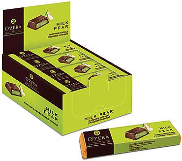 «OZera», шоколадный батончик Milk Pear, 50г