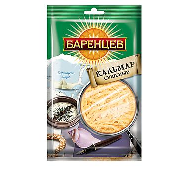«Баренцев», кальмар сушёно-вяленый, 40г