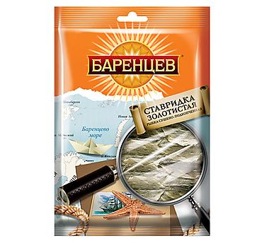 «Баренцев», ставридка золотистая сушёно-подкопченная, 70г