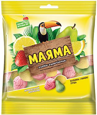 «Маяма», мармелад жевательный в форме ягод и фруктов, 170г