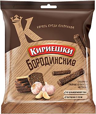 «Кириешки», сухарики со вкусом чеснока, 40г