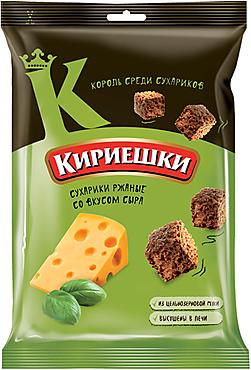 «Кириешки», сухарики со вкусом сыра, 100г