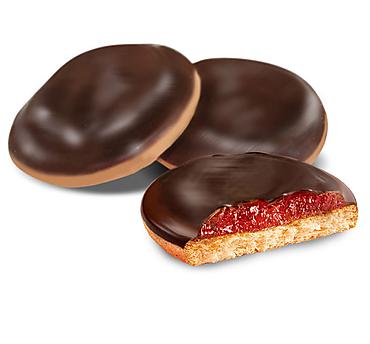 Печенье «Клубника», сдобное (коробка 2кг)