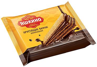 «Яшкино», вафли «Шоколадные», 70г