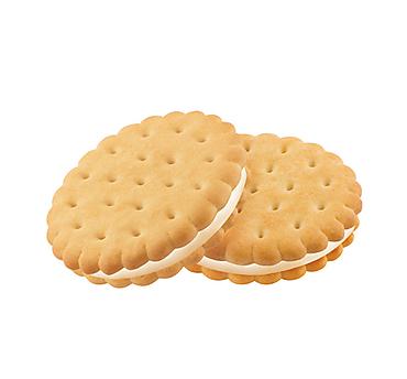 Печенье-сэндвич со сливочным кремом, затяжное (коробка 3,4кг)