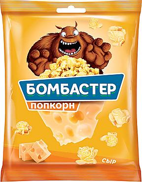 «Бомбастер», попкорн со вкусом сыра, 35г