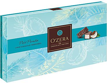«OZera», суфле в шоколаде «Кокосовое», 200г