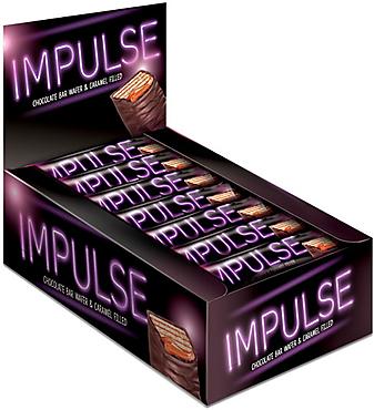 Батончик шоколадный «Импульс», 16г