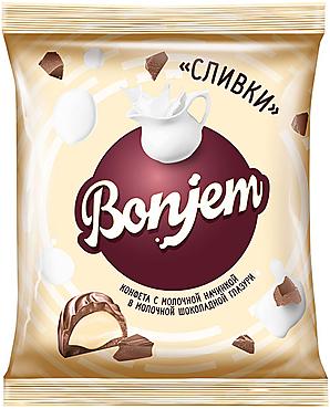 «Bonjem», конфета «Сливки», 180г