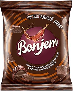 «Bonjem», конфета «Шоколадный ликер», 180г