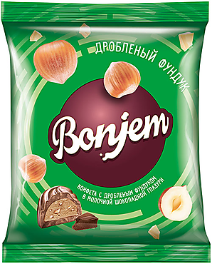 «Bonjem», конфета «Дробленый фундук», 180г