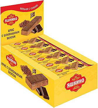 «Яшкино», ирис с шоколадным вкусом, 40г