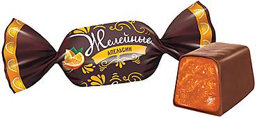 Конфета «Апельсин», желейная (упаковка 1кг)