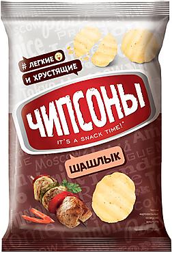 «Чипсоны», чипсоны со вкусом шашлыка, 70г