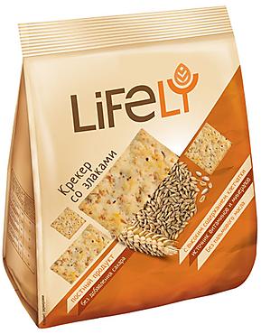 «LifeLY», крекер со злаками, 180г