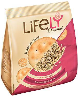 «LifeLY», крекер Original с малым добавлением соли, 180г