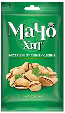 «МачоХит», фисташки жареные, солёные, 80г