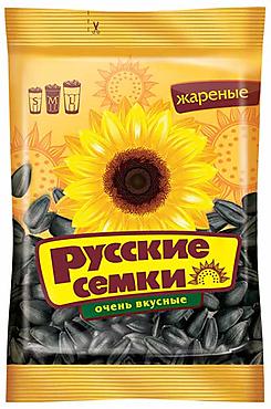 «Русские семечки», семечки отборные, высший сорт, 100г
