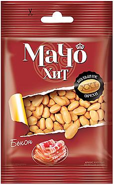 «МачоХит», арахис цельный, жареный, со вкусом бекона, 30г