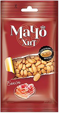 «МачоХит», арахис цельный, жареный, со вкусом бекона, 50г