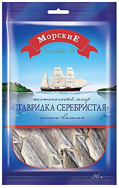 «МорскиЕ», ставридка сушёно-вяленая, 36г