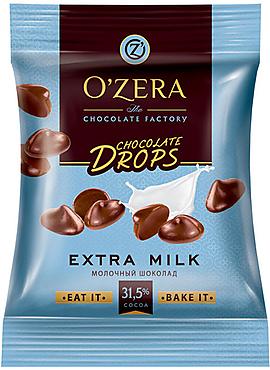 «OZera», шоколад  Milk drops, 70г