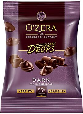 «OZera», шоколад Dark drops, 70г