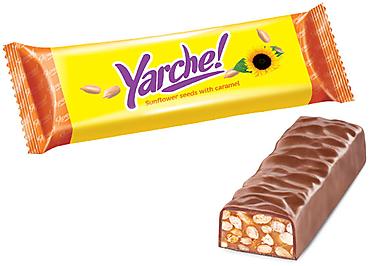 Батончик «Yarche!»  с семенами подсолнечника, 50г