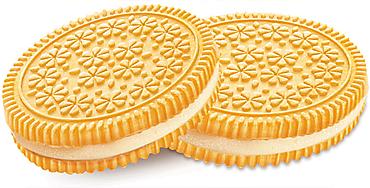 Печенье–сэндвич со сливочным вкусом (коробка 4кг)