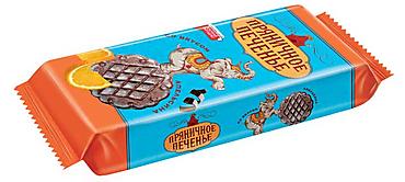 «Пряничное печенье», сдобное пряничное печенье с какао и цукатами., 257г