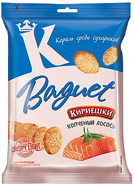 «Кириешки Baguet», сухарики со вкусом копченого лосося, 50г