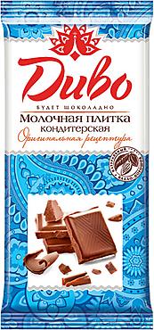«Диво», плитка кондитерская молочная, 90г