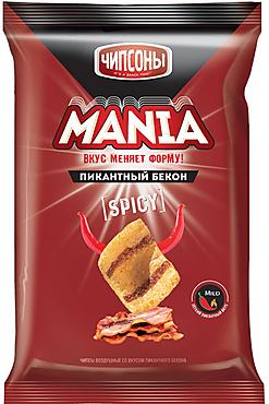 «Чипсоны», чипсы со вкусом пикантного бекона, 60г