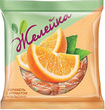 Карамель «Желейка» со вкусом апельсина, 180г