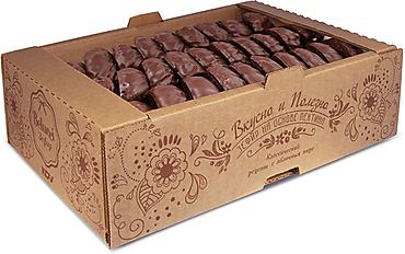 Зефир ванильный глазированный (коробка 1кг)