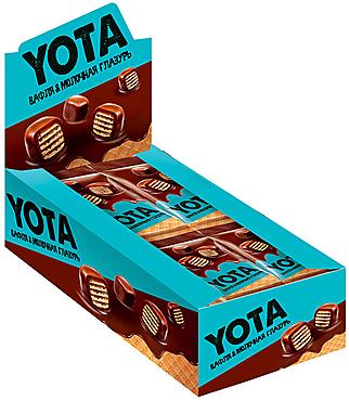 «Yota», драже вафля в молочно-шоколадной глазури, 40г