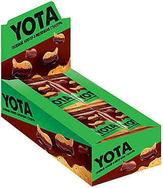 «Yota», драже «рыбка» в молочно-шоколадной глазури., 40г