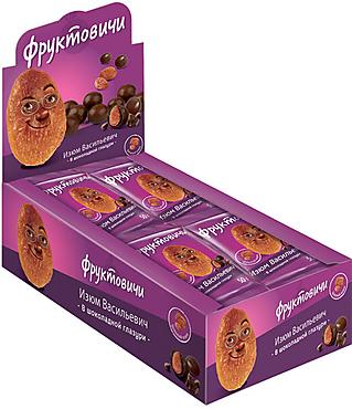 «Фруктовичи», драже изюм в шоколадной глазури, 50г