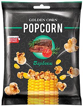«Golden Corn», попкорн со вкусом барбекю, 35г