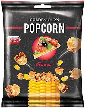 «Golden Corn», попкорн со вкусом пиццы, 35г