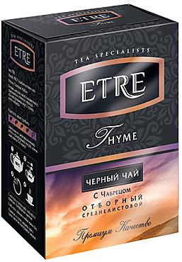 «ETRE», «Thyme» чай черный с чабрецом, 100г